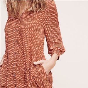 ANTHROPOLOGIE Holding Horses Button down Tunic